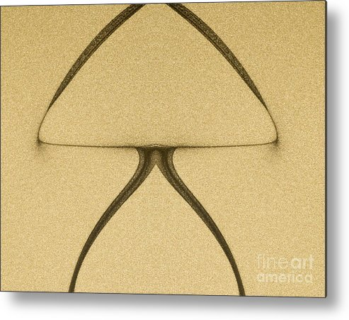 Abstract Metal Print featuring the digital art Art Abstract by Odon Czintos