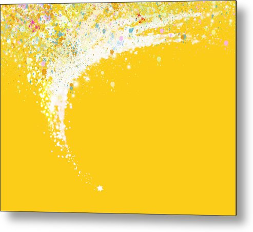 Art Metal Print featuring the painting Colorful Curved by Setsiri Silapasuwanchai
