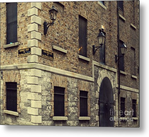 Dublin Metal Print featuring the pyrography Guinness Storehouse Dublin by Louise Fahy