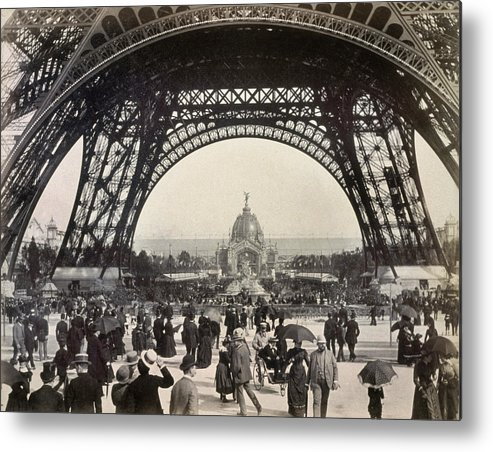 1889 Metal Print featuring the photograph Paris Exposition, 1889 by Granger