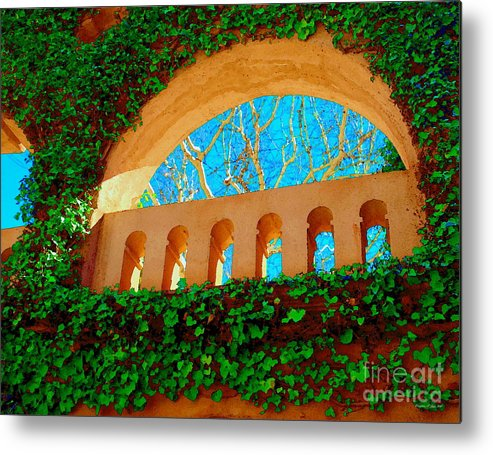 Mexican Metal Print featuring the photograph Sedona Viii by Christine S Zipps