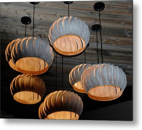 Lights Metal Print featuring the photograph Vented Lights by Rob Hans