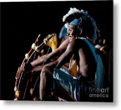 Bows Metal Print featuring the photograph Bow And Arrow Dance by Irene Abdou