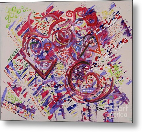 Carnival Metal Print featuring the painting Carnival Mind by Corinne Carroll