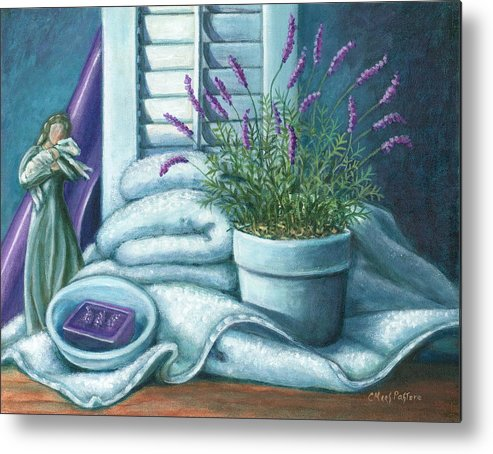 Painting Metal Print featuring the painting Comfort by Colleen Maas-Pastore