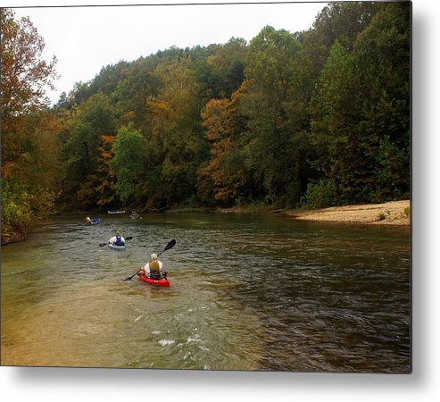 Current River Metal Print featuring the photograph Current River 3 by Marty Koch