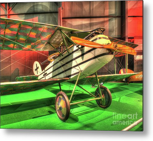 Nose Metal Print featuring the photograph Halberstadt Cl Iv by Greg Hager