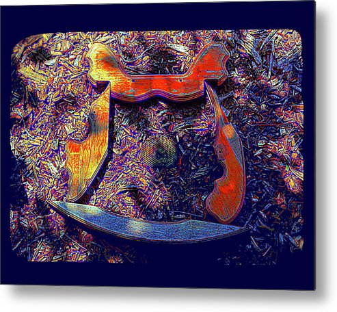 Surrealism Metal Print featuring the painting Hive Mind Sails To Improbable Realms by Barry Gremillion