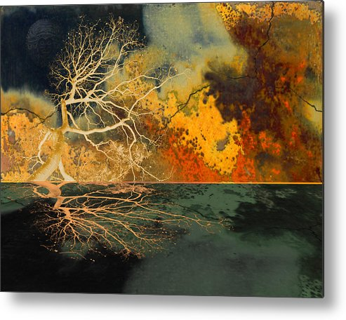 Forest Metal Print featuring the photograph Hotzone by Jeff Burgess