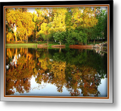 Color Metal Print featuring the photograph Late Summer Day by Farol Tomson