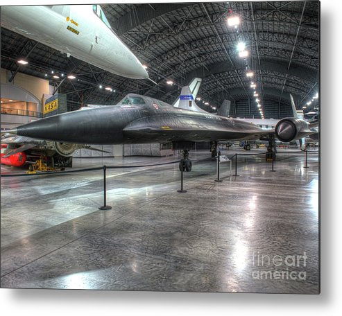 Dayton Metal Print featuring the photograph Lockheed Yf-12a by Greg Hager