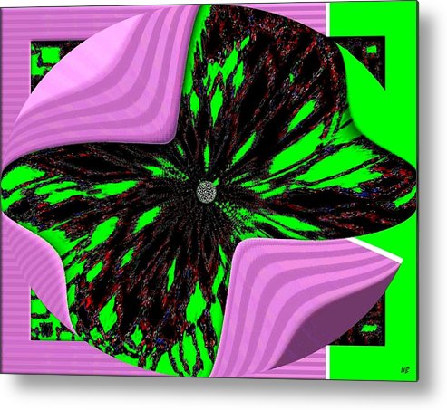 Metamorphose Metal Print featuring the digital art Metamorphose by Will Borden