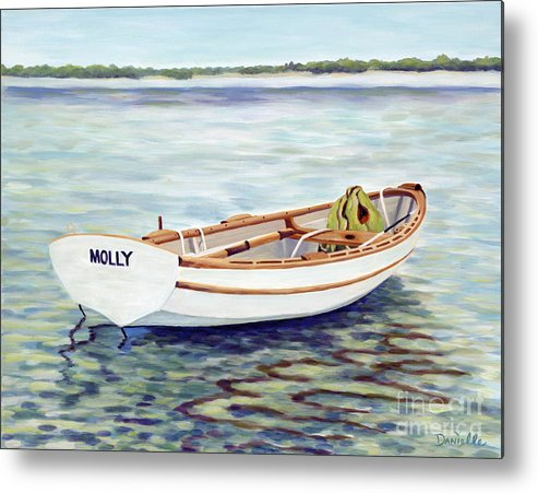 Molly Metal Print featuring the painting Molly by Danielle Perry