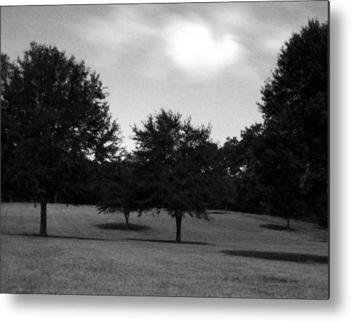 Landscape Metal Print featuring the photograph Nine Thirty At Night Where My Heart Is by Heather S Huston