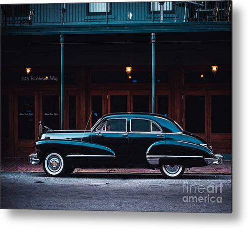 Cadillac Metal Print featuring the photograph Nola Caddie by Sonja Quintero