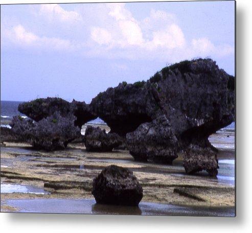 Okinawa Metal Print featuring the photograph Okinawa Beach 2 by Curtis J Neeley Jr