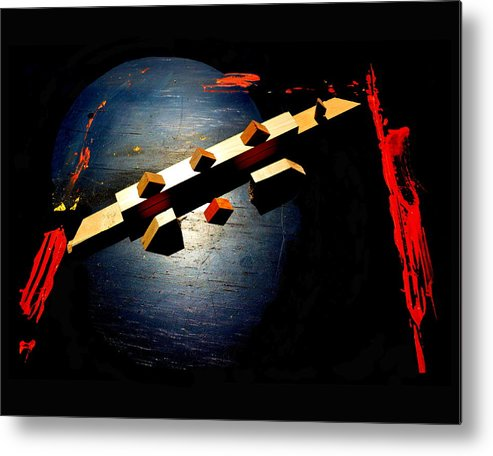 Surrealism Metal Print featuring the painting One More Thing The Government Doesn't Want Us To Know by Barry Gremillion