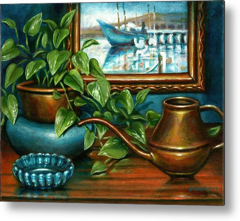 Artwork Metal Print featuring the painting O'neills Painting by Colleen Maas-Pastore
