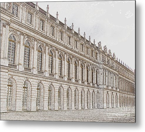 France Metal Print featuring the photograph Palace Of Versailles by Amanda Barcon