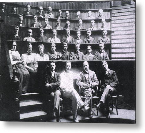 History Metal Print featuring the photograph Professors Harvey Cushing, Howard by Everett