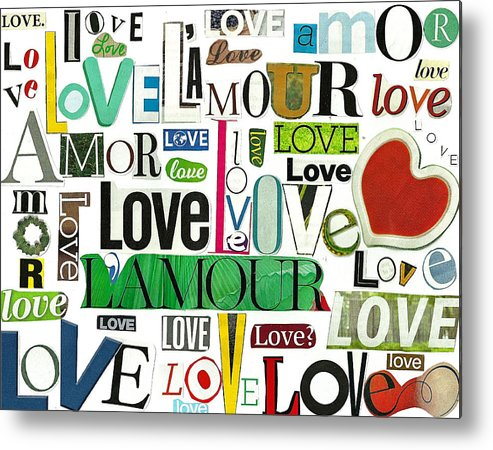 Ransom Metal Print featuring the photograph Ransom Art - Love by Judy Salcedo