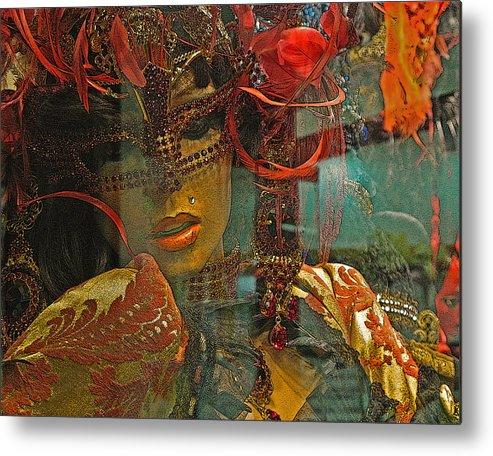Ivenice Metal Print featuring the photograph Red Lips by Sonia Melnikova-Raich