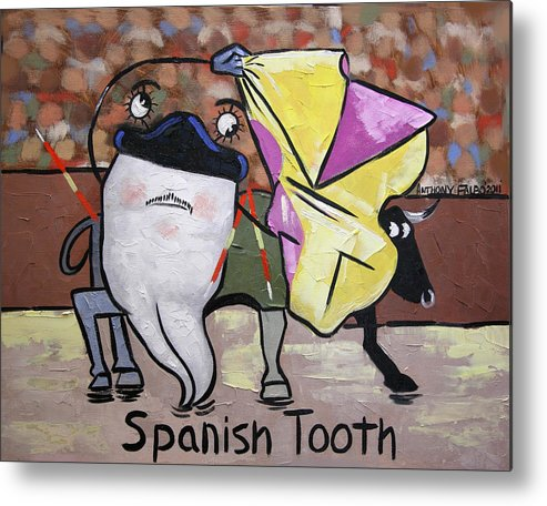 Spanish Tooth Metal Print