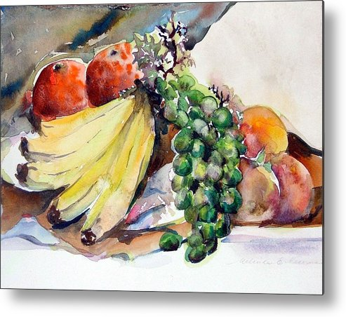 Fruit Metal Print featuring the painting Thanksgiving by Mindy Newman