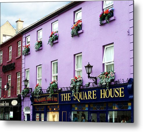 Irish Metal Print featuring the photograph The Square House Athlone Ireland by Teresa Mucha