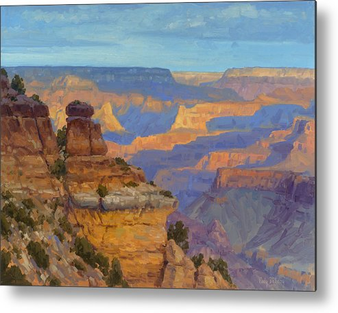 Cody Delong Metal Print featuring the painting Transient Light by Cody DeLong