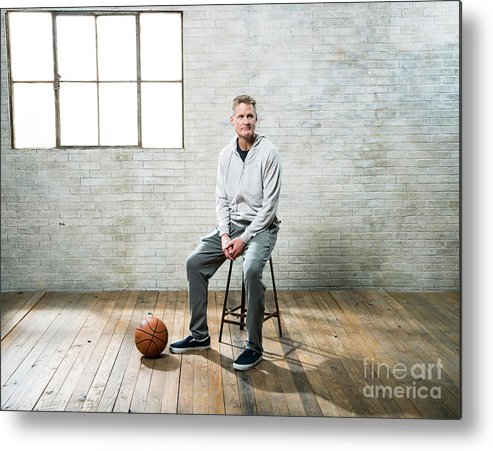 Nba Pro Basketball Metal Print featuring the photograph Nba All-star Portraits 2017 by Nathaniel S. Butler