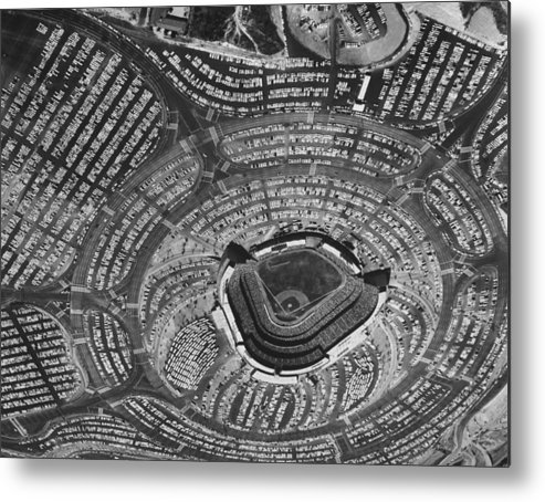 Timeincown Metal Print featuring the photograph Los Angeles Dodgers by Ralph Crane