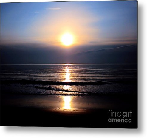 Sun Metal Print featuring the photograph Good Morning Sunshine by Sharon Woerner