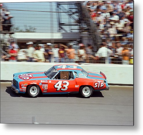 classic Metal Print featuring the photograph Richard Petty by Retro Images Archive