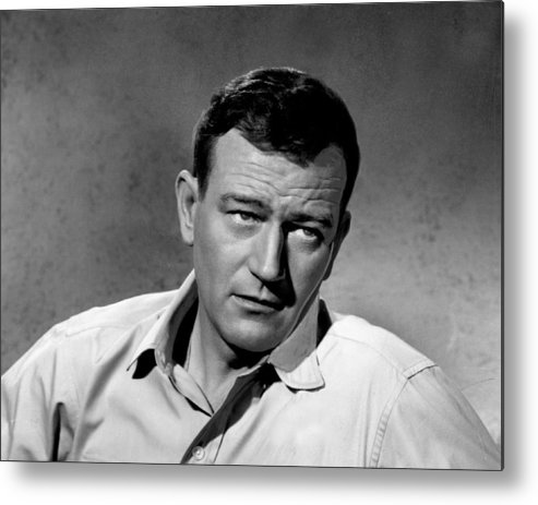 classic Metal Print featuring the photograph John Wayne by Retro Images Archive