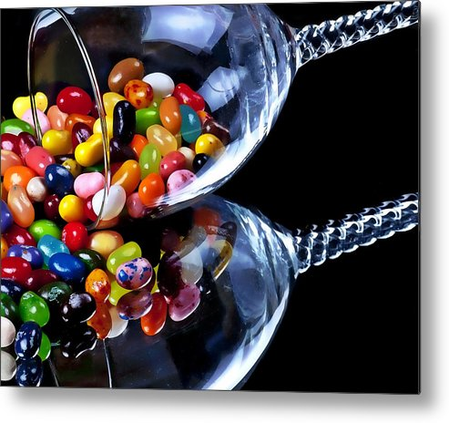 Jelly Beans Metal Print featuring the photograph Jellies by Camille Lopez