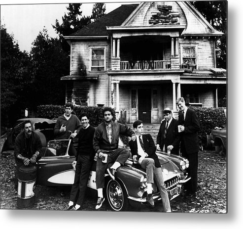 classic Metal Print featuring the photograph John Belushi by Retro Images Archive