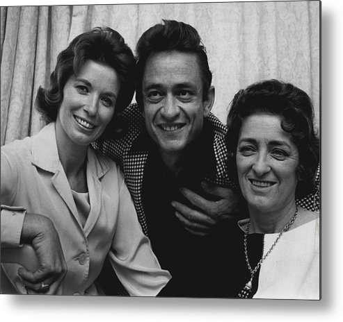 classic Metal Print featuring the photograph Johnny Cash by Retro Images Archive