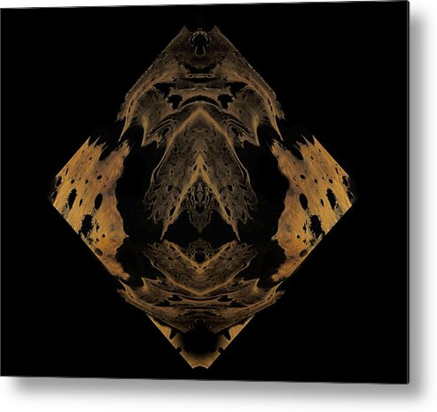 Original Metal Print featuring the painting Diamond 137 by J D Owen