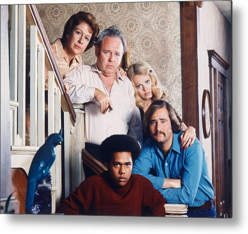 All In The Family Metal Print featuring the photograph All In The Family by Silver Screen