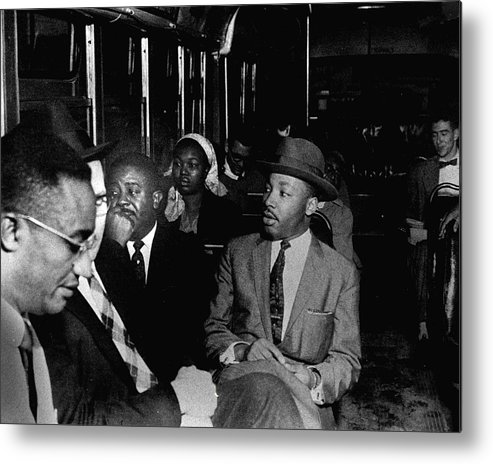 classic Metal Print featuring the photograph Martin Luther King by Retro Images Archive