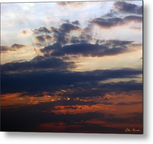 Behold The Dawn Metal Print featuring the painting Behold The Dawn by Ellen Henneke