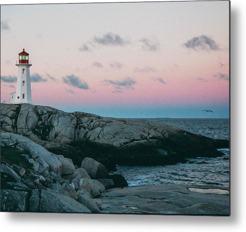 Peggy's Cove Metal Print featuring the photograph Peggy's Cove by Ron Metz