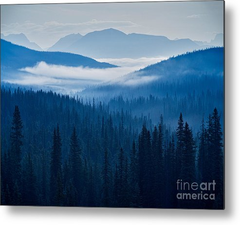 Clouds Metal Print featuring the photograph Dawn Creeps On Little Cat Feet by Royce Howland