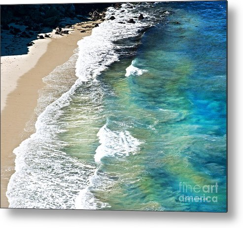 Ocean Waves Metal Print featuring the photograph Days That Last Forever Waves That Go On In Time by Artist and Photographer Laura Wrede