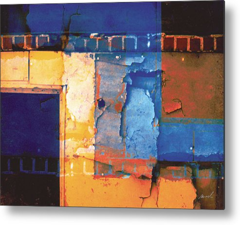 Architecture Metal Print featuring the digital art Enter by The Art of Marsha Charlebois