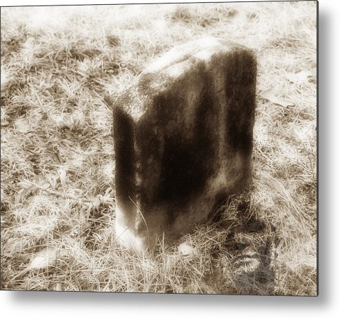 Grave Metal Print featuring the photograph Final Resting Place by Raymond Earley