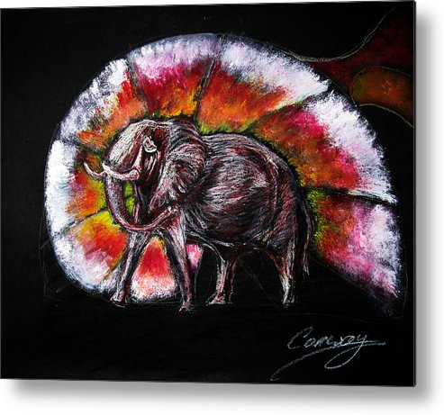 Wild Metal Print featuring the drawing Grand Designs For Life On Earth by Tom Conway