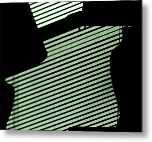 Still Life Metal Print featuring the photograph Green Pattern by Michael Fenton
