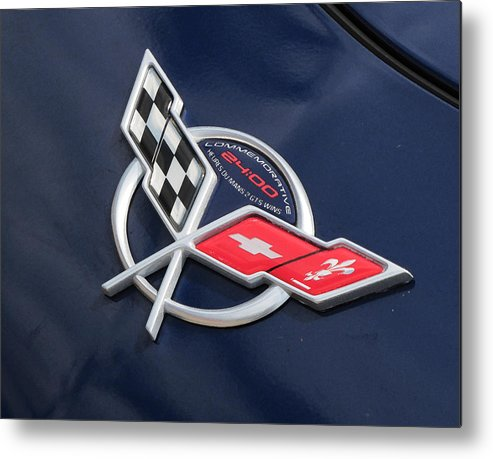 Corvette Metal Print featuring the photograph His Baby by Liz Tomlinson
